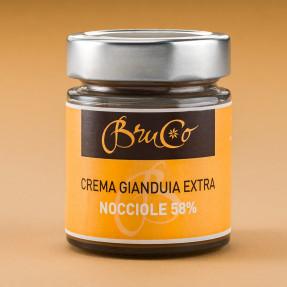 Crema spalmabile Gianduia 58% e Nocciole