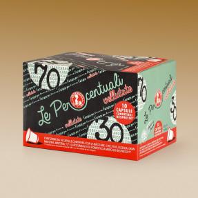 Capsule compatibili Nespresso VELLUTATO 70-30, 10pz