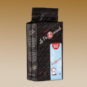 Grinded decaffeinated coffee, 65-35