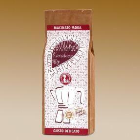 L'Arabico grinded coffee, soft taste