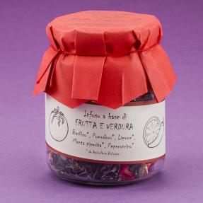 Infuso Frutta e Verdura Basilico, Pomodoro, Limone, Menta...