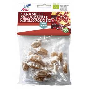 Organic Pomegranate and Cranberry candies