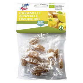 Organic ginger lemon candies