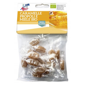 Organic honey and propolis candies