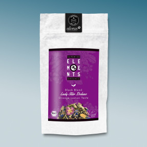 Black Fruity organic Tea, citrus fruits, Lady star de...