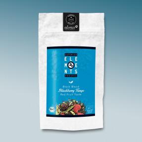 Black fruity organic tea, red fruit taste, Blackberry...