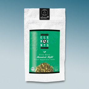 Green organic Chinese Mint tea, Marrakesh nights,  Alveus®