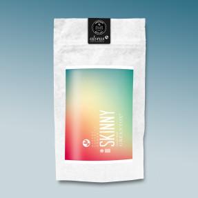 Green detoxifying organic tea, lemon taste, Skinny, Alveus®