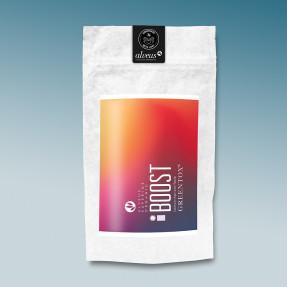 Green organic detoxifying tea, apricot taste, Boost,...