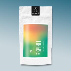 Green organic detoxifying tea, lemon taste, Spirit,  Alveus®