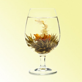 Tiger Leaping flower burst, flowering tea Cinese