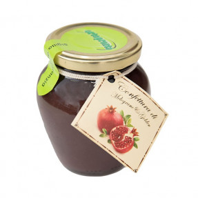 Pomegranate and Golden Apple jam