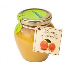 Orange organic marmelade