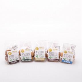 Gluten free vegan biscuits, snack size