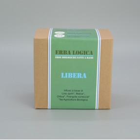 "Infuso lassativo biologico in bustina, ""Libera"" 15pz"
