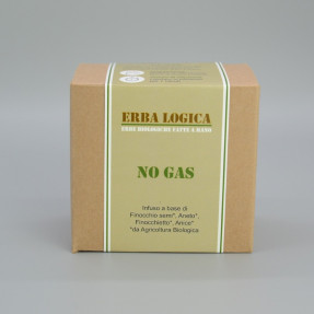 "Infuso sgonfiante biologico in bustina, ""No Gas"" 15pz"