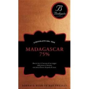 Madagascar 75% chocolate bar
