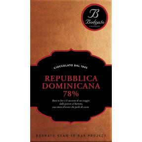 Dominican Republic 78% chocolate bar