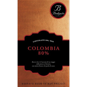 Colombia 80% chocolate bar