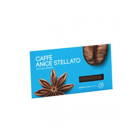 Coffee and star anise dark chocolate bar