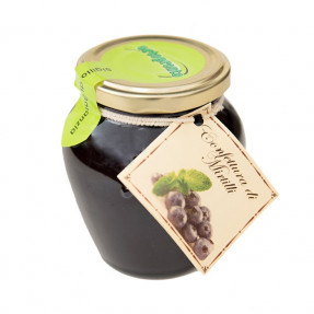 Blueberries jam