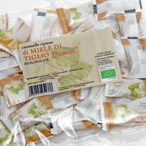 Caramelle di miele di tiglio e pino mugo, bio