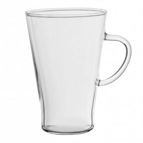 Mug conica in vetro borosilicato