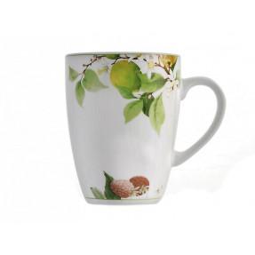 Porcelain floreal mug Boss