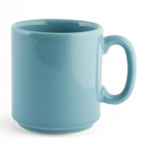 Mug Iris in earthenware