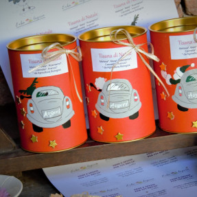 Organic Christmas herbal tea, loose leaf