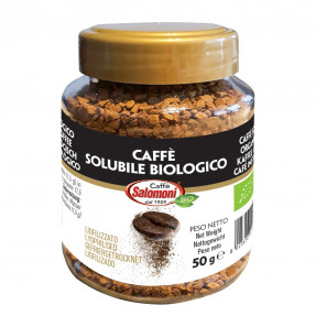 Organic soluble coffee