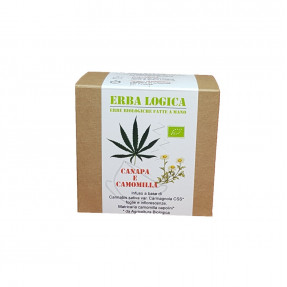 Hemp chamomile Organic infusion, 15 tea bags