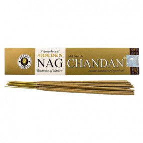 Incense Golden Nag Chandan, 15gr