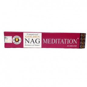 Incenso Golden Nag Meditation, 15gr