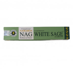 Incense Golden Nag White Sage, 15gr