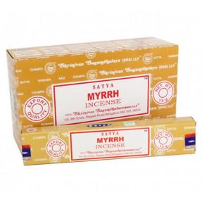 Myrrh Satya incense, 15gr