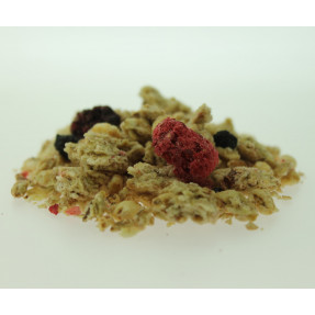 copy of Hazelnut muesli and mulberry blackberries