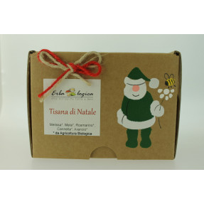 Herbal organic Christmas tea, tea bags