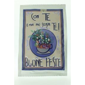 """Tea artistical post card """"Mai più senza te"""""""