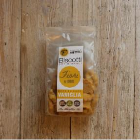 Biscotti fiori di mais alla vaniglia, 250gr