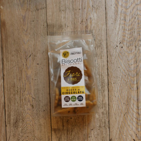 Corn gluten free vegan biscuits, with chocolate chips