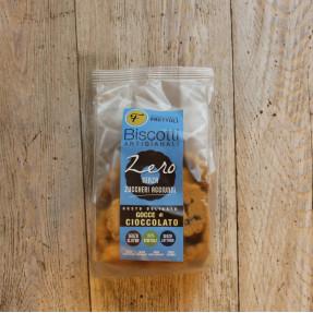 Biscotti zero gocce di cioccolato, 250gr