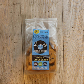 Corn gluten free vegan biscuits, with chocolate pieces