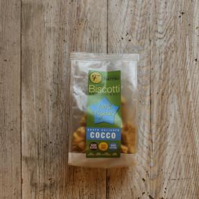 Coconut gluten free vegan biscuits