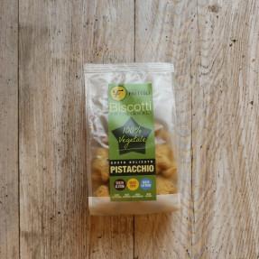 Pistachio gluten free vegan biscuits