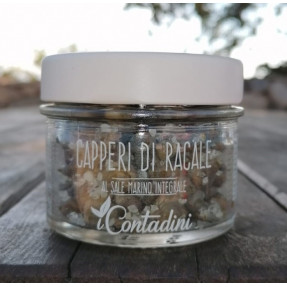 Salted Racale capers, 75gr