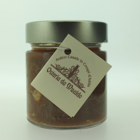 Italian artisanal duck ragù sauce, 250gr