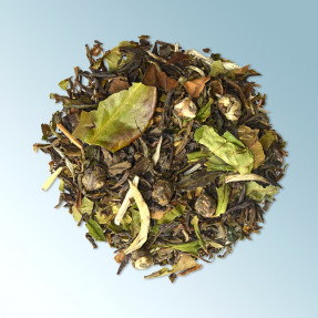 Green Chinese orgenic tea, jasmine taste, Jasmine...