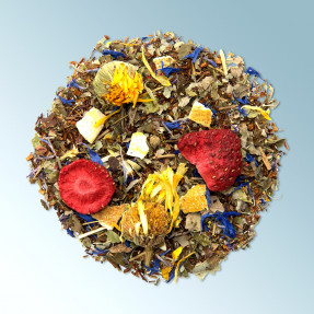 Organic rooibos infusion, citrus-herb taste, Summer...