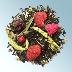 Tè nero fruttato bio gusto frutti rossi, Blackberry...